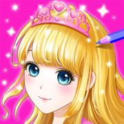 公主涂色秀—可画画涂鸦的填色游戏