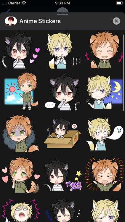 iStickers: Anime Stickers screenshot-5