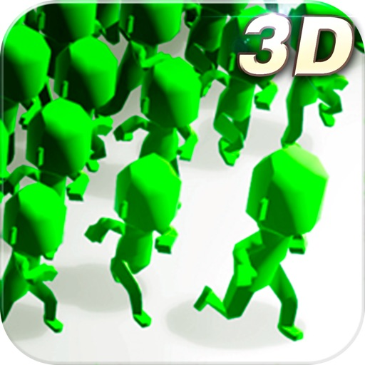 拥挤城市3D
