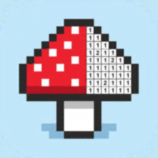Pixel Grid Color by Number