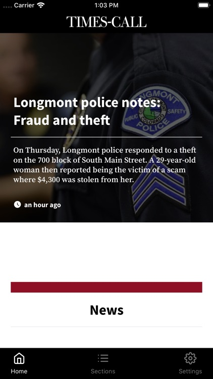 Longmont Times-Call for Mobile