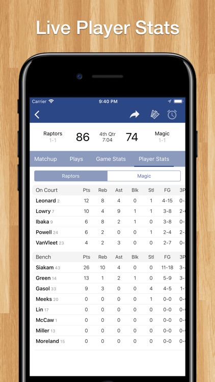 Basketball Schedules for NBA screenshot-4