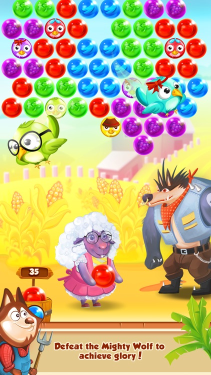 Bubble Shooter - Farm Pop Saga screenshot-3
