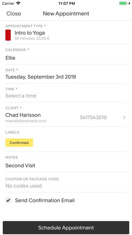 Acuity Schedule Admin screenshot-3