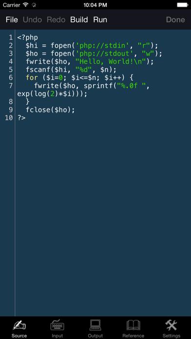 PHP Programming Language screenshot one