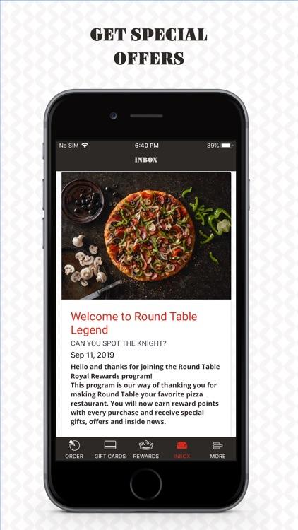 Round Table Pizza Rewards screenshot-4