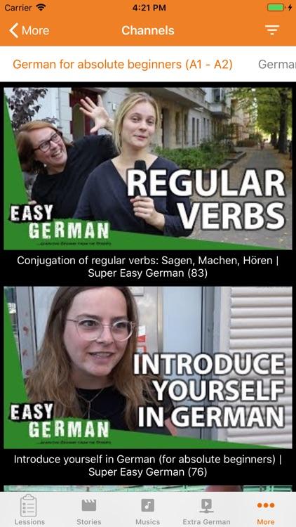 Learn German Online screenshot-5