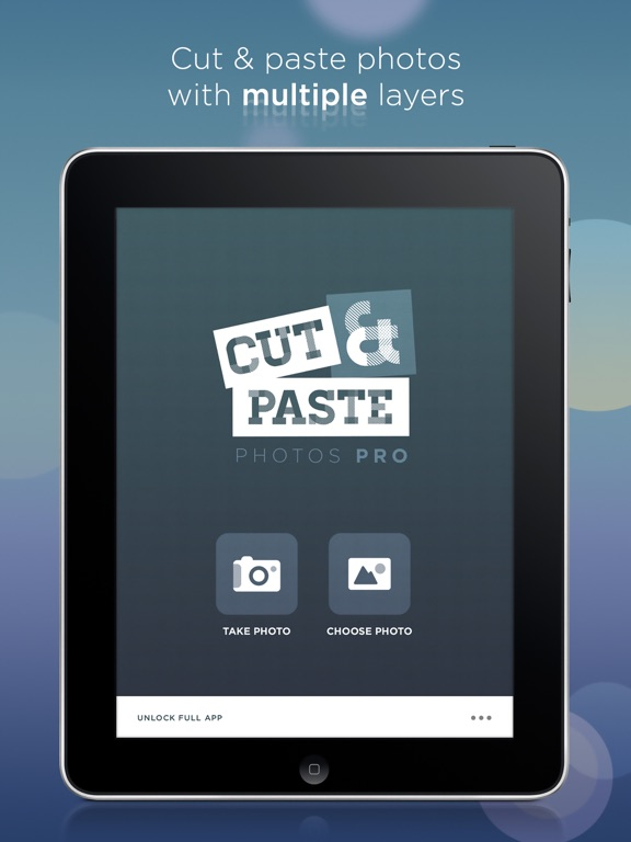 Cut Paste Photos Pro - Chop your photos and merge them together as in image editing apps like photoshop (but not affiliated with it) screenshot