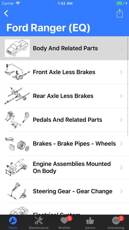 Ford Parts screenshot-3