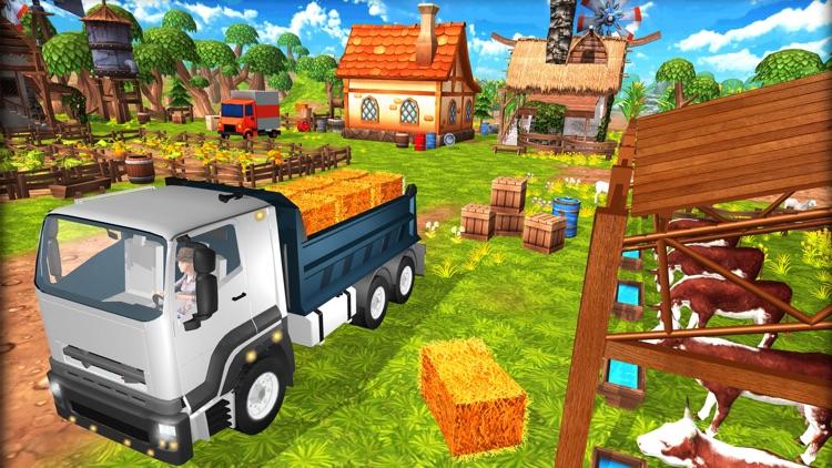 Little Happy Farm Town screenshot-3