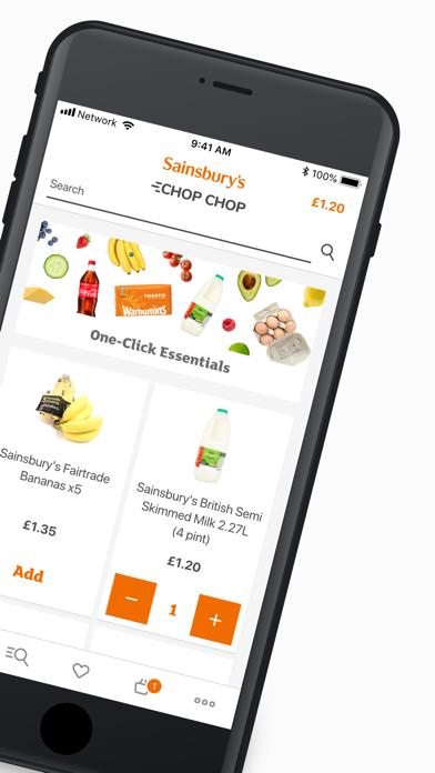 Sainsbury's Chop Chop screenshot two