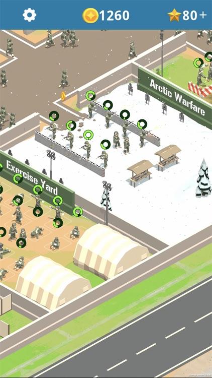 Idle Army Base screenshot-3