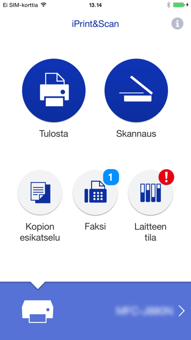 Screenshot for Brother iPrint&Scan in Finland App Store