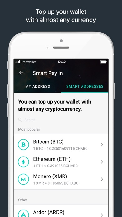Bitcoin Cash ABC Wallet - 窓用