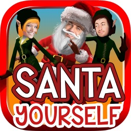 Santa Yourself - face in video
