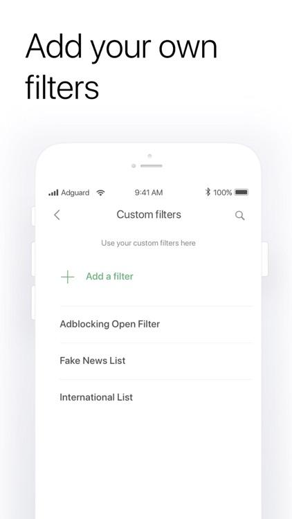 AdGuard  — adblock&privacy screenshot-3
