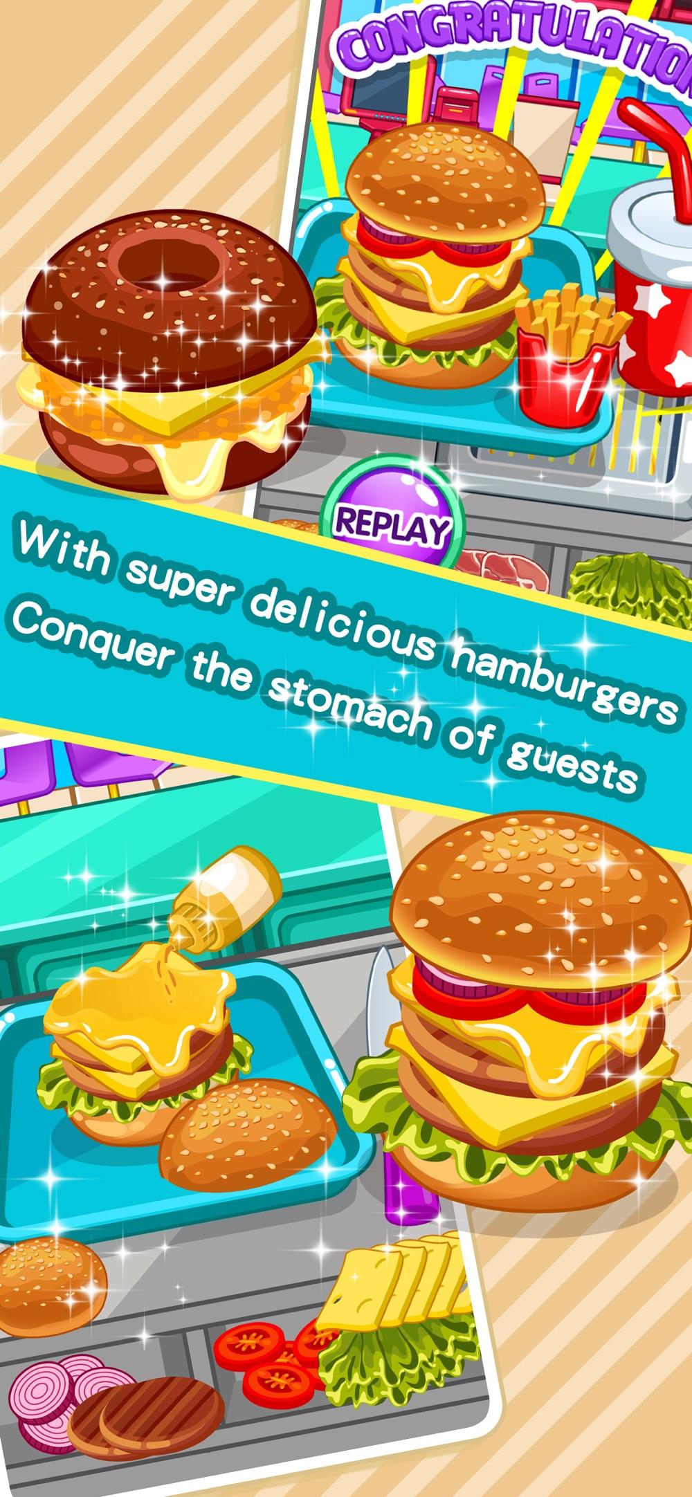 Make hamburgers -Cooking games hack tool