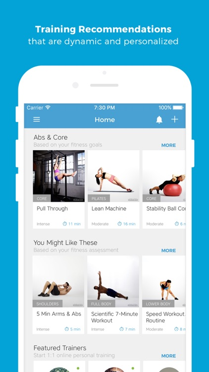 Workout Trainer: fitness coach screenshot-2