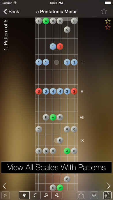 Star Scales Pro For Guitar review screenshots