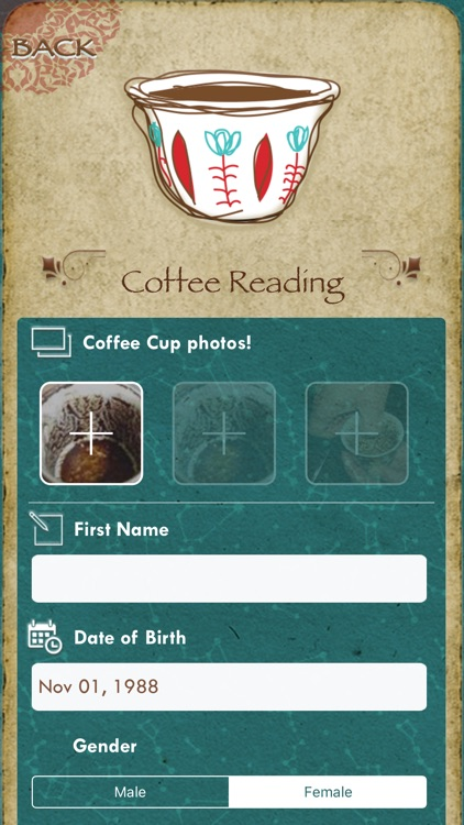 Basirly - Coffee Tarot reading