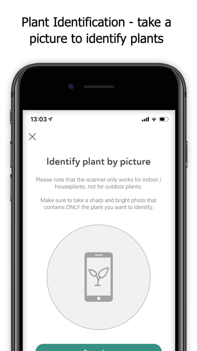 Planta: Keep your plants alive Screenshot