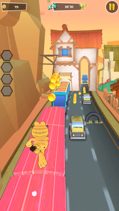 Garfield Run: Road Tour screenshot 3