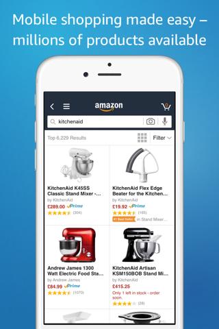 Screenshot of Amazon - Shopping made easy