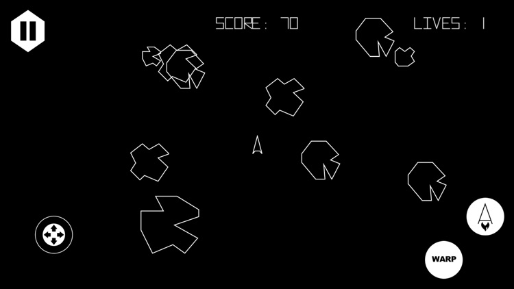 Asteroids 5400 screenshot-4