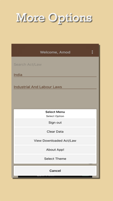 Law-App screenshot three