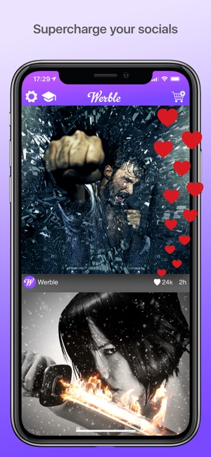 Werble: Photo & Video Animator on the App Store