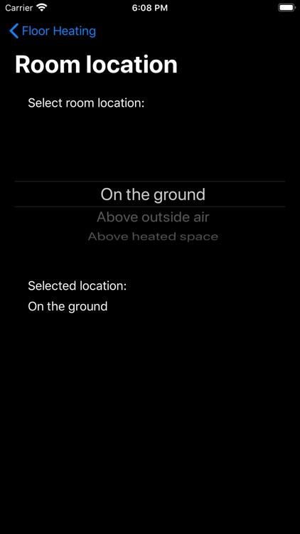 Floor Heating screenshot-3