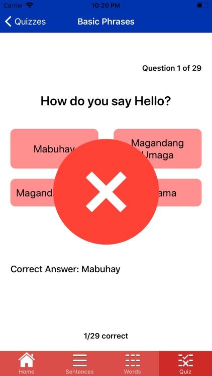 learn Filipino Easy screenshot-8