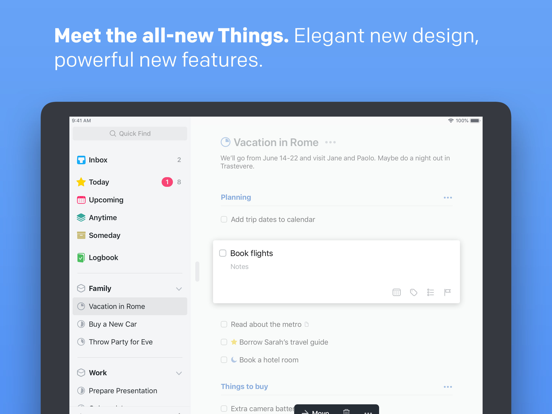 Things 3 for iPad | App Price Drops