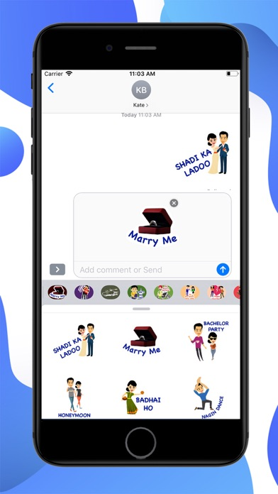 Wedding Diaries Stickers screenshot 2