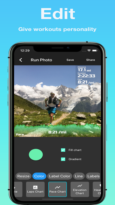 Run Photo - for Garmin, Stravaのおすすめ画像2