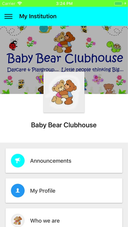 Baby Bear Clubhouse
