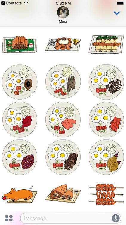 Pilipino Stickers screenshot-4
