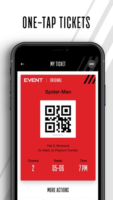 Event Cinemas screenshot three