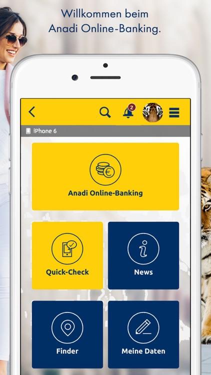 Anadi Internetbanking screenshot-0