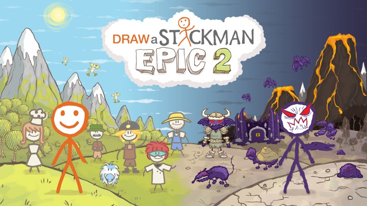 Draw a Stickman: EPIC 2 Pro screenshot-0