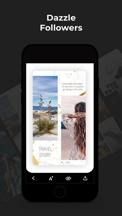 Dazzle: Insta Stories Editor