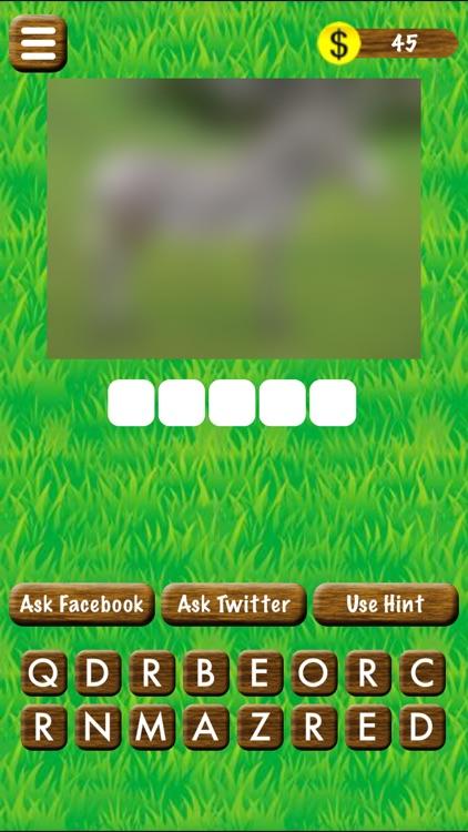 Name The Animal - A Word Game