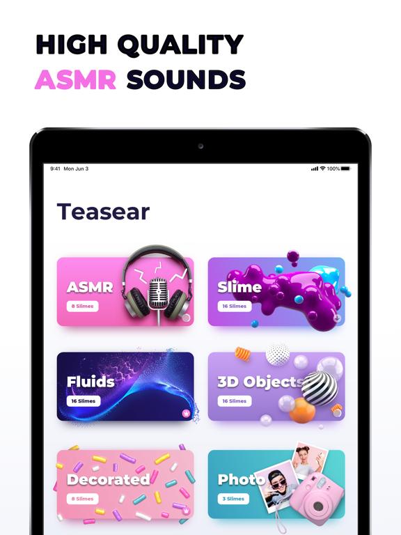iPad Image of TeasEar - ASMR Slime Triggers