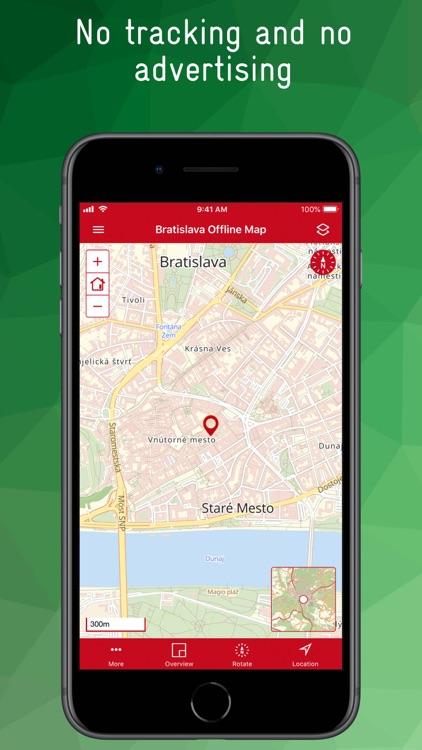 Bratislava Offline Map