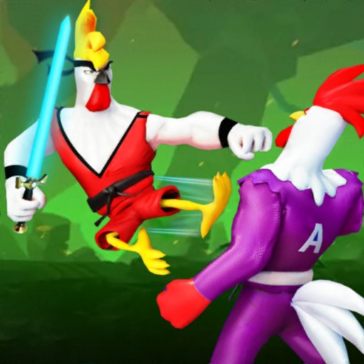 Angry Rooster Fighting Games