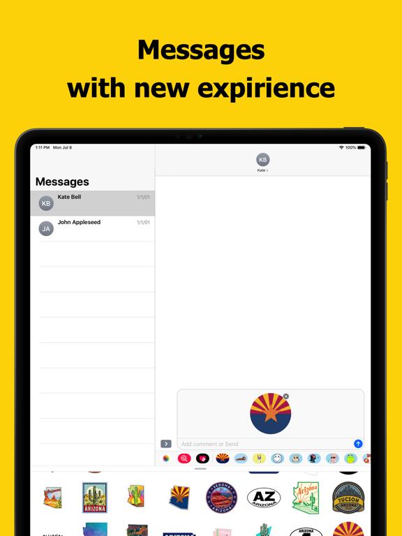Arizona emojis - USA stickers screenshot 8