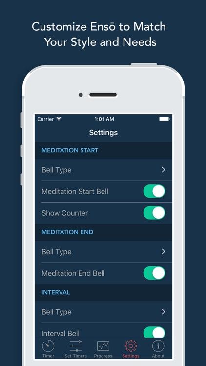 Ensō   Meditation Timer & Bell screenshot-3