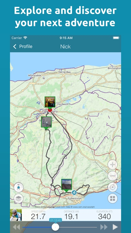 Map My Tracks Running Pro screenshot-4
