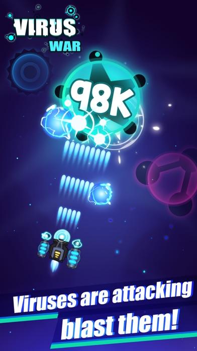 Virus War- Space Shooting Game screenshot 1