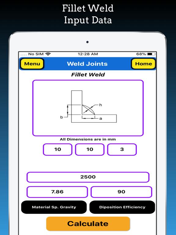 Welding Weight Calculator screenshot 20